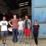 Indian 420 Sailing Team Kiel Week 2014